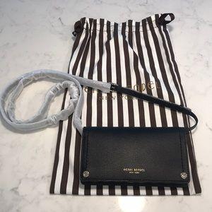NWT Henri Bendel 100% leather belt bag